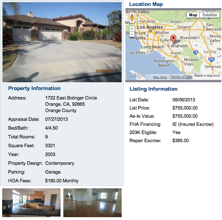 Just Listed in Orange