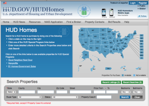 search HUD Homes at www.HUDHOMESTORE.com