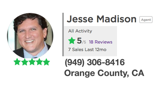 Orange County Realtor reviews